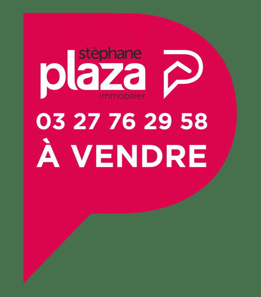 Logo étiquette Stéphane Plaza