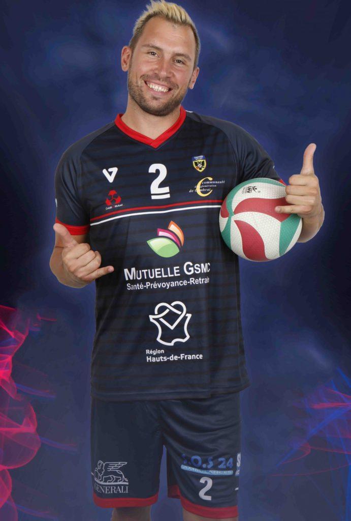 Yannick Bazin Cambrai Volley